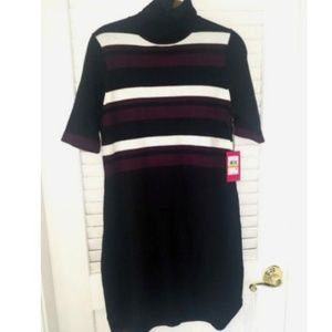 COPY - Nwt Vince Camuto Black Sweater Dress Turtl…